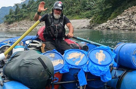 kim-rafting